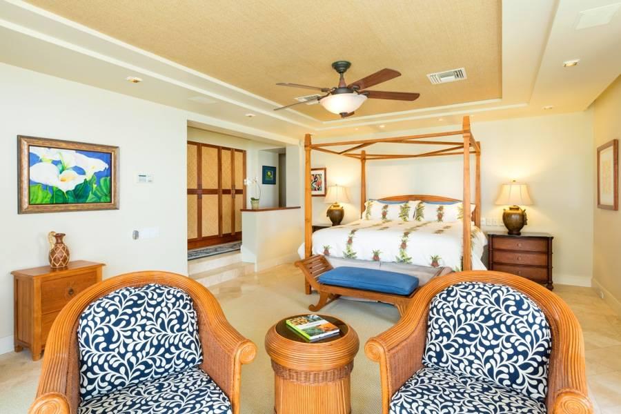 Keauhou Lani Master Bedroom Suite